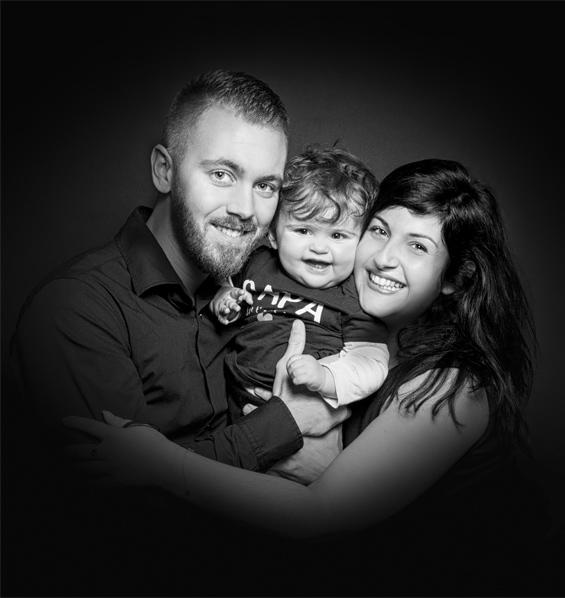 Photo de famille à Béthune